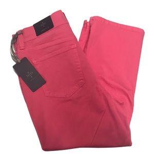 NYDJ Crop Pink Jeans Size 4